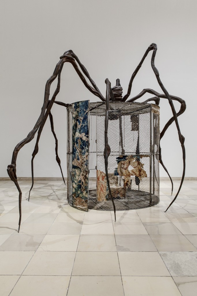Spider (Cell), de Lousie Bourgeois (1997).