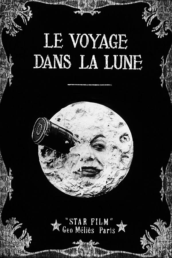 'Viaje a la luna' (1902), de Georges Méliès.