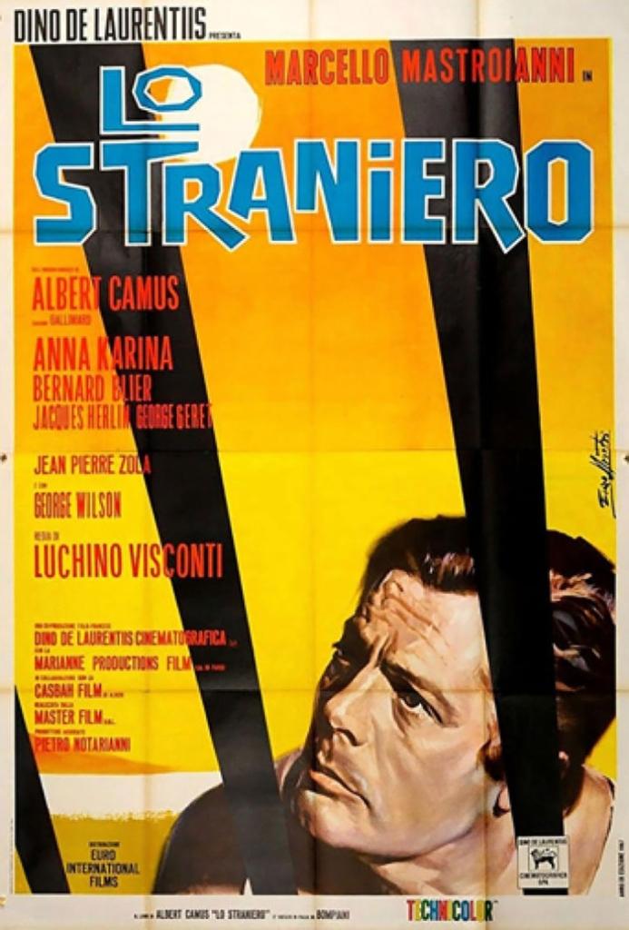 'El Extranjero' (1967), de Luchino Visconti.