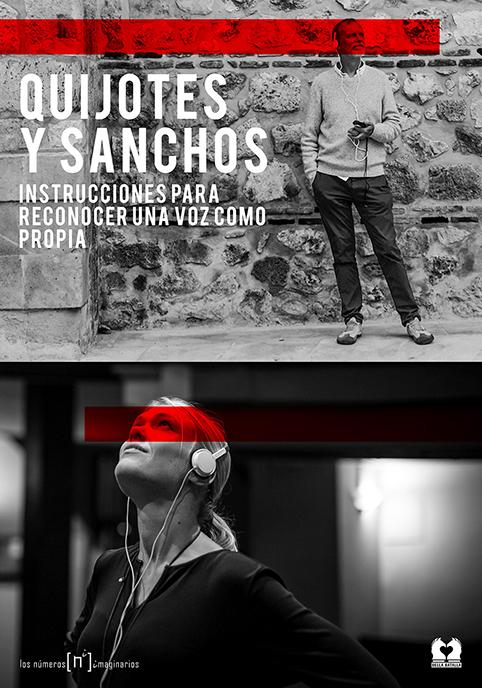 Cartel de la obra 'Quijotes y Sanchos', de [los números imaginarios] y la productora Bella Batalla.