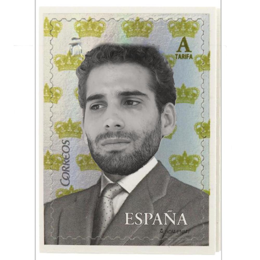 Reinterpretación de un sello español, por @wannabegangster_