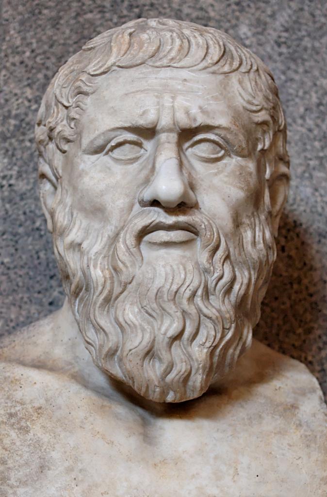 Busto en honor a Platón.