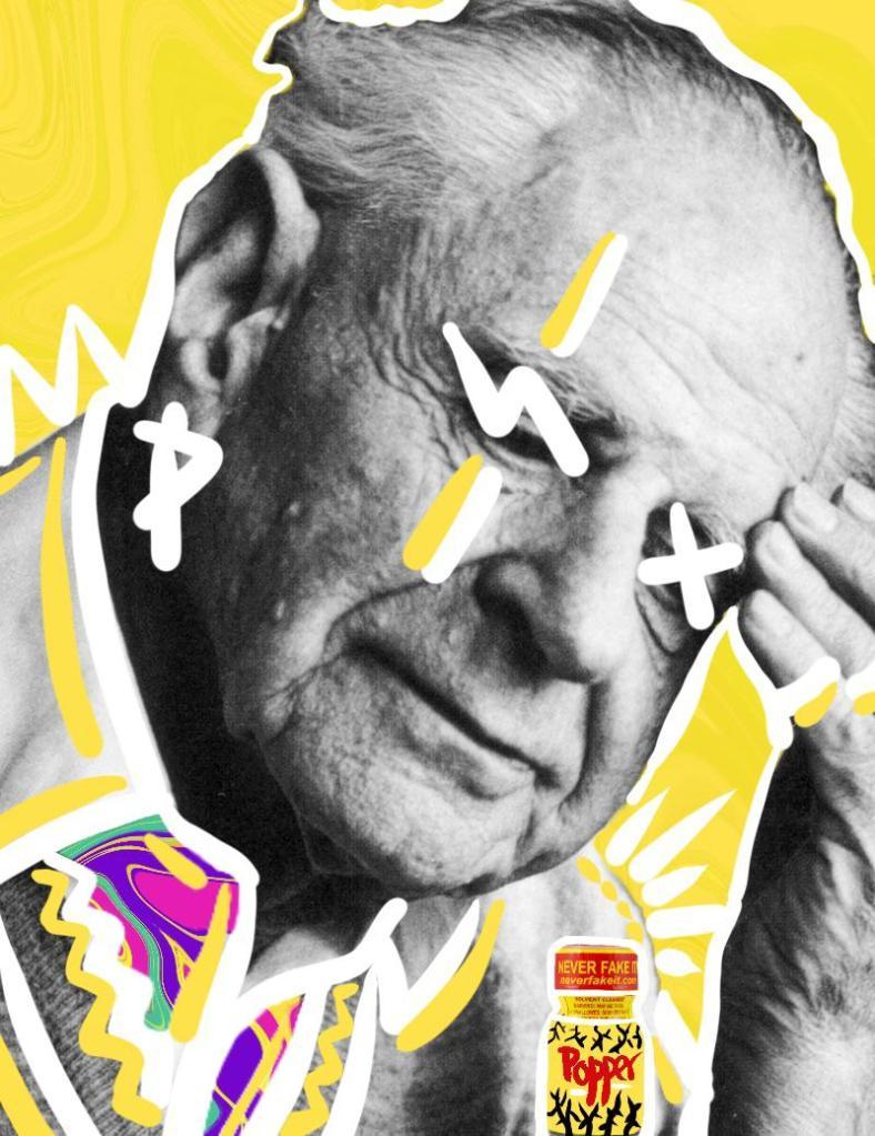 Karl R. Popper (1902-1994), visto por @wannabegangster_